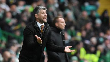 Stephen Robinson was left frustrated at Celtic Park.