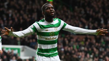 Odsonne Edouard netted three goals against Motherwell.