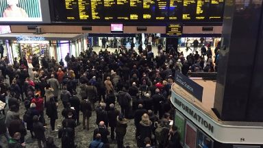 Delays: Passengers can use tickets on Monday.