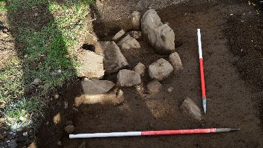 Discovery: Archaeologists 'tremendously excited'.