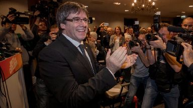 European arrest warrants withdrawn for Carles Puigdemont and aides.
