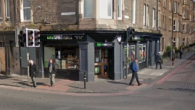 High Spirits: Staff threatened with knife at off-licence (file pic).