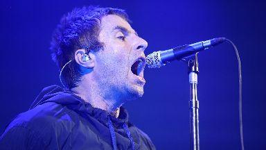 Liam Gallagher: The Rock 'n' Roll star was back in Glasgow.