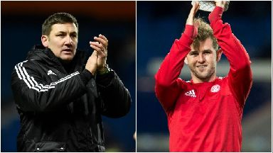 Hamilton duo Martin Canning and David Templeton have been named November's Premiership Manager and Player of the Month.