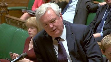 Mr Davis defended the government's efforts in the talks.