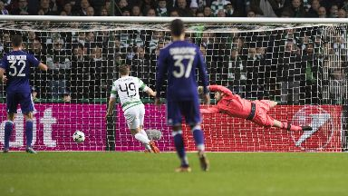 Blow: Celtic conceded an own goal.