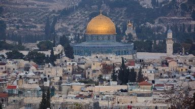 The contested city is revered as a holy place by Christians, Jews and Muslims alike.