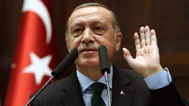 Turkey's Recep Tayyip Erdogan warned they could cut diplomatic ties to the US.