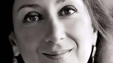 Daphne Caruana Galizia was killed by a car bomb.