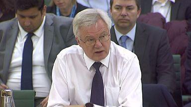 David Davis: The Brexit secretary said the documents are 'very useful'.