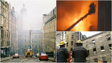 It took 52 hours to fully extinguish the city centre fire.
