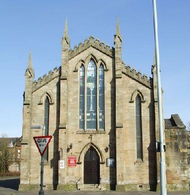 The original building was erected in 1833.