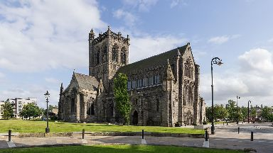 The church opened in 1163.