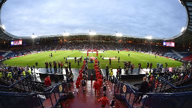 Venue: Hampden will host four matches but not the opening game.