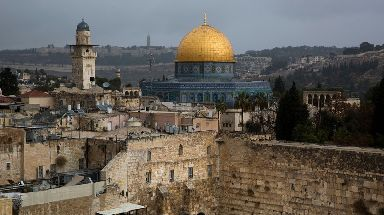 Jerusalem lies at the heart of the Israeli-Palestinian conflict.