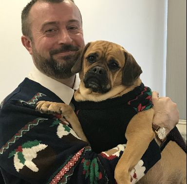 Dr Walters and Toby have a special festive message.