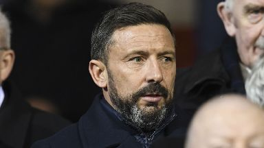 Derek McInnes: Aberdeen manager to miss training for second day.