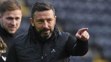 Derek McInnes: Delighted to sign new deal.