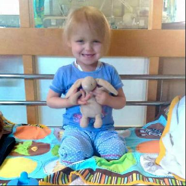 Amelia received blood and platelet transfusions during her chemotherapy treatment.