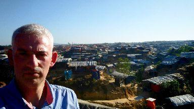 Chris Harvey: Visited camp with Scottish Catholic International Aid Fund.