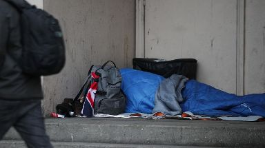 Sleeping rough: Plan has the support of third sector (file pic).