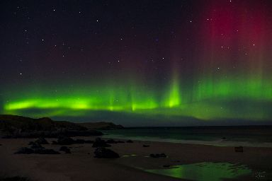 Mo has spent hours at a time sitting in the middle of the night in places like Sango Sands Bay in Durness.