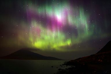 Harris: This was the first place Mo saw the Aurora Borealis.