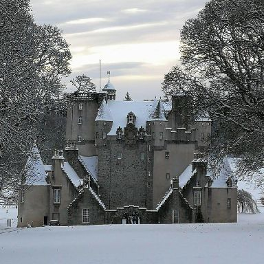 Castle Fraser in Inverurie.