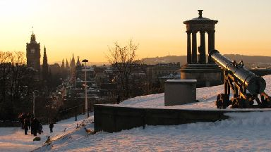 Take a wander up Calton Hill.