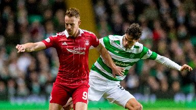 Aberdeen lost match to Celtic.