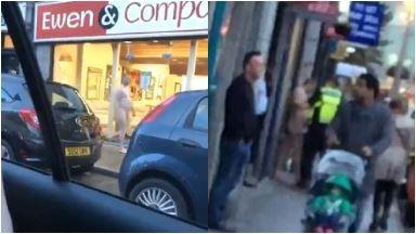 Aberdeen: Passers-by left in shock