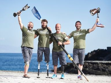 Row2Recovery made history with the first all-amputee four-man rowing team to cross the Atlantic