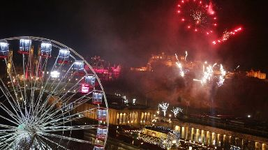 Hogmanay: Thousands of people expected.