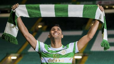 Marvin Compper was Celtic's first signing of the winter window.
