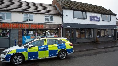 Police attended the Carlini restaurant in Albrighton after the threats were reported.
