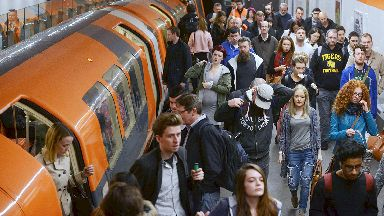 Clockwork Orange: Glasgow's subway system serves 13 million people a year.