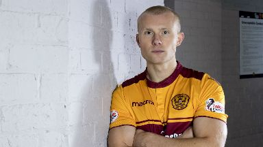 Signing: Motherwell have snapped up Main.