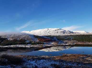 Beautiful Scotland on New Year's Day.