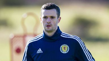 Jamie Murphy has represented Scotland at youth level.