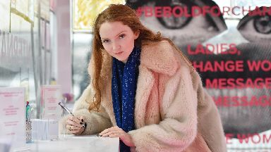 Response: Lily Cole said she considered writing under a pseudonym to avoid backlash.