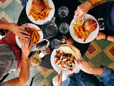 Following France's habit of enjoying the social aspect of eating could make you feel happier.