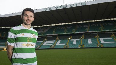 Lewis Morgan signed for Celtic at the start of the January transfer window.