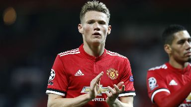 Scott McTominay has yet to decide where his international future lies.