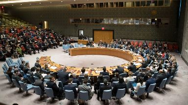 The United Nations Security Council met on the situation in Iran on Friday.