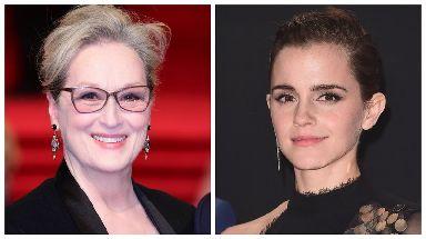 Meryl Street and Emma Watson will both bring activist guests.
