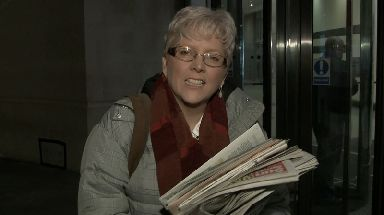 Carrie Gracie said she had had no response to her letter from the BBC bosses.