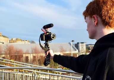 Callum enjoys vlogging about his home city of Dundee.