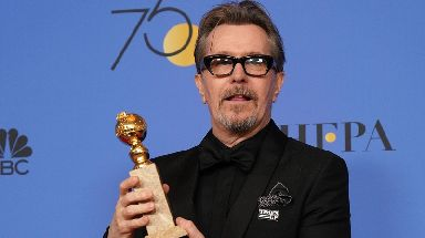 Gary Oldman won a Golden Globe for his role in Darkest Hour.