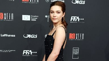 British actress Florence Pugh is nominated for the EE Rising Star Award.