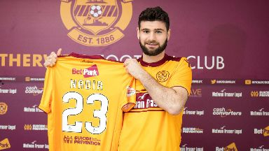 Loan deal: Ciftci has moved to Motherwell.